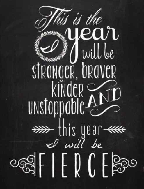 Strength Quotes This Is The Year Will BE Stronger Braver Kinder And Unstoppable This Year