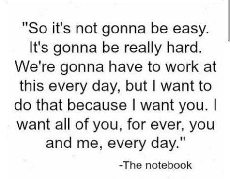 Teen Quotes so it's not gonna be easy it's gonna be really hard..