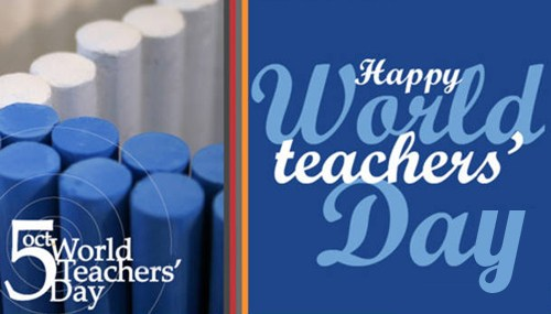 To Best Teachers Happy World Teacher's Day Greetings