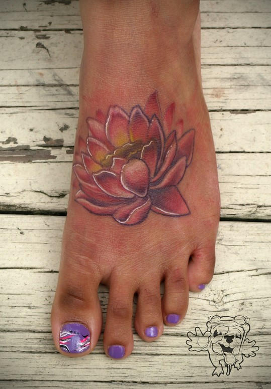 Traditional Foot Tattoos