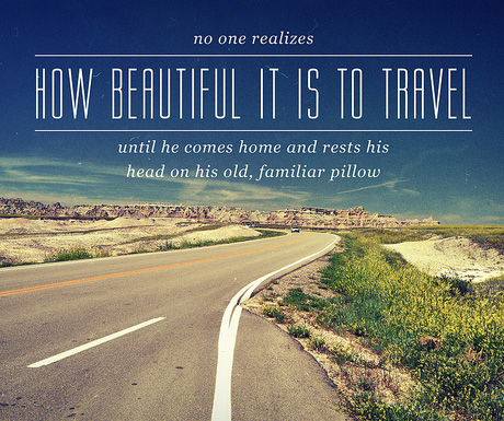Travel Quotes how beautiful it is to travel