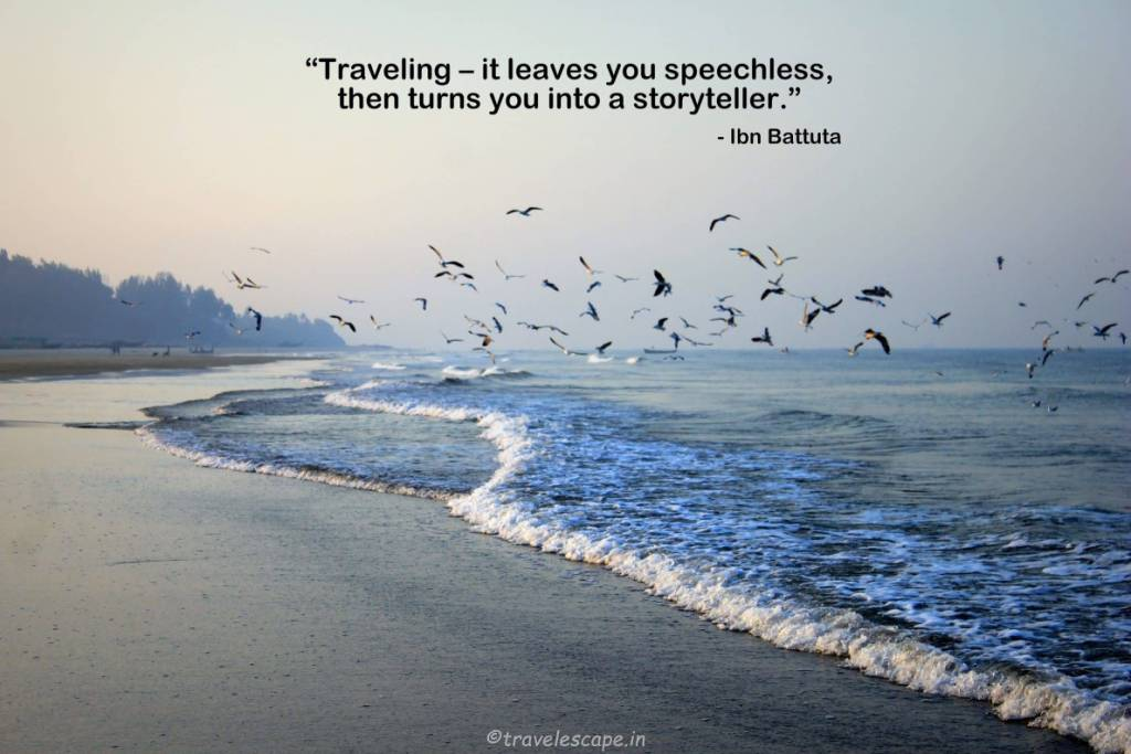 Travel Quotes traveling it leaves you speechless, then turns you into a storyteller.