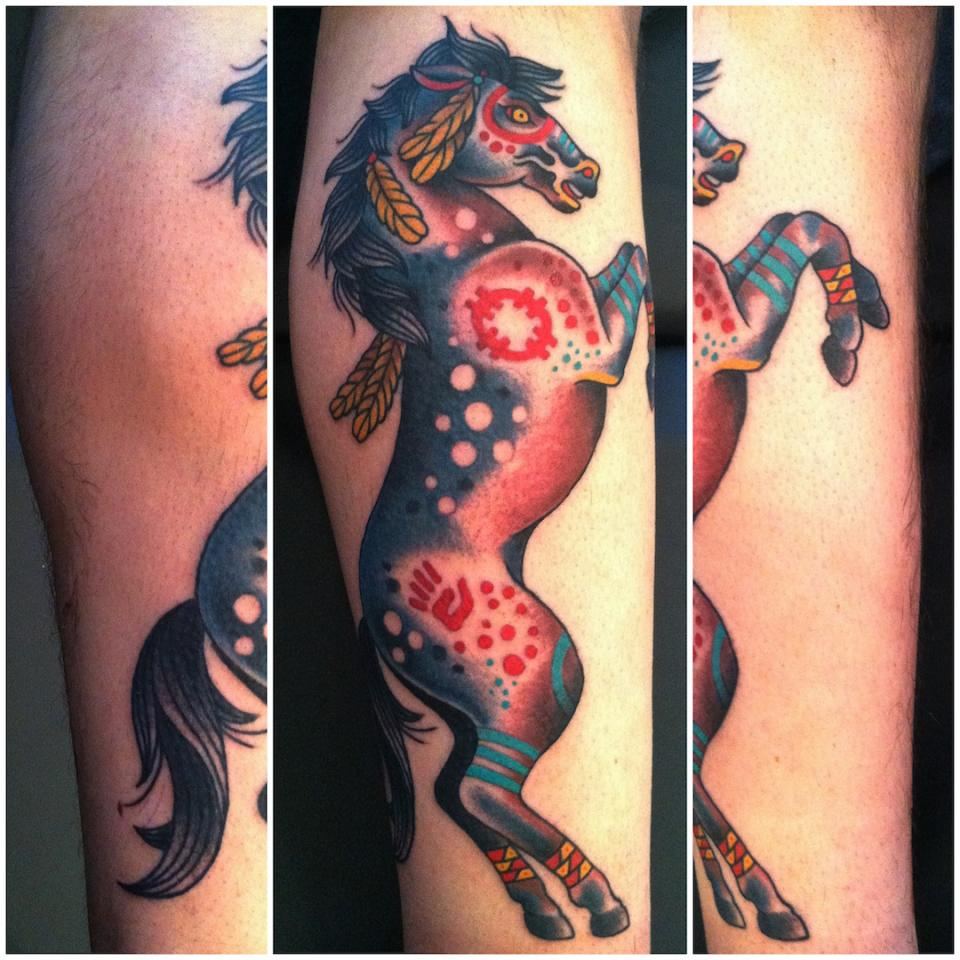 Ultimate Horse Tattoo Design For Boys