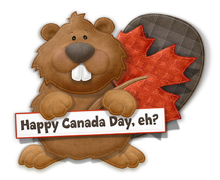 Very Cute Happy Canada Day Image