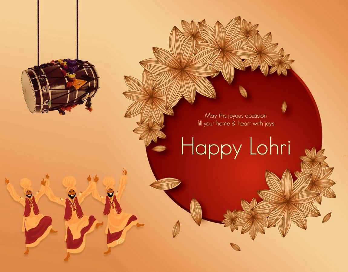 Wish You And Your Family A Very Happy Lohri Greetings Image