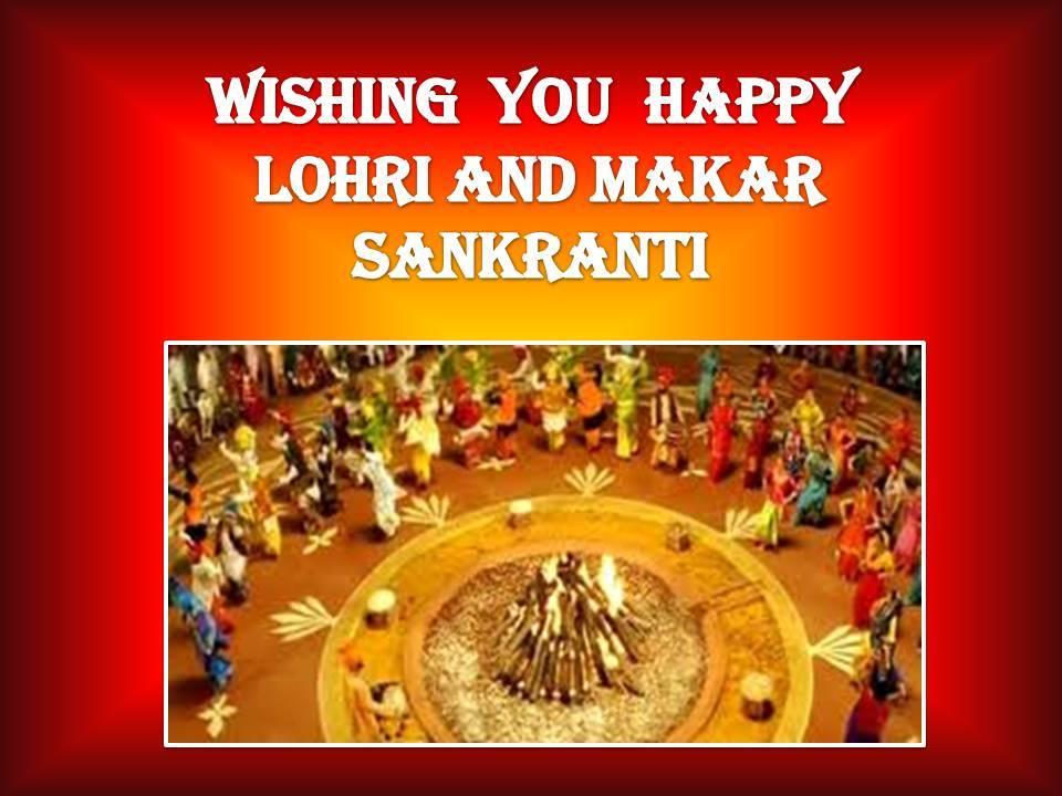 Wishing You Happy Lohri Sankranti