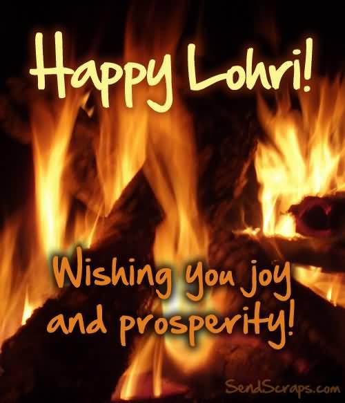 Wishing You Wonderful Lohri Wishes Image