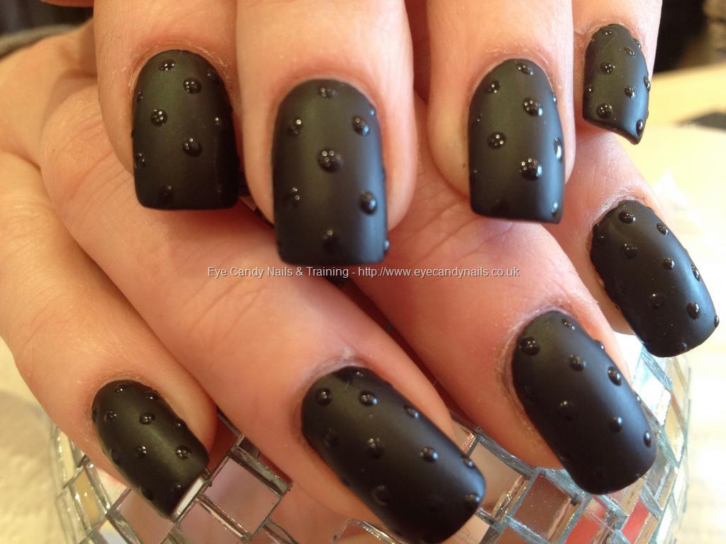 43 Fabulous Black Acrylic Nails Art Designs & Style | Picsmine
