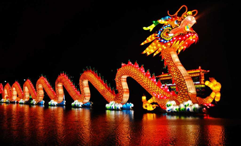 Wonderful Dragon On Chinese New Year Wallpaper