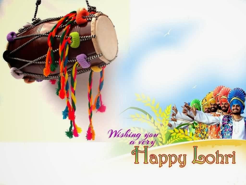 Wonderful Happy Lohri Best Greetings Image