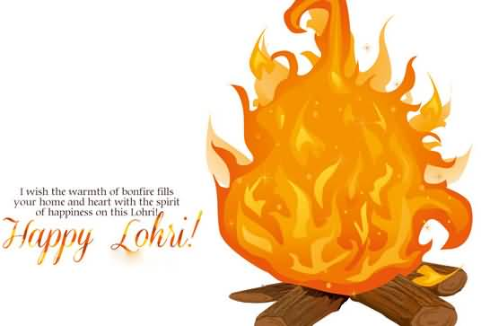 Wonderful Quotes Happy Lohri Greetings Message Image