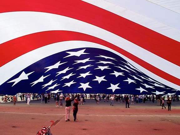 World Biggest USA Flag Picture