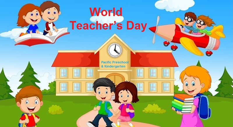 World Teacher's Day Ma'am Wishes Image