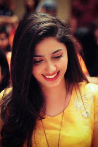 cool image of mahira khan