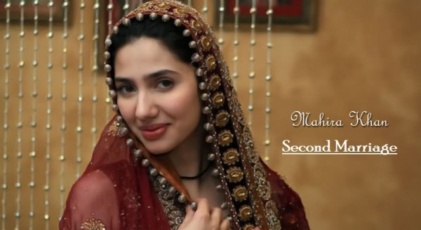second marrige pic of mahira khan in red suit
