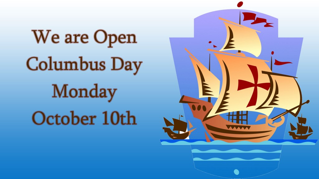 12 Columbus Day