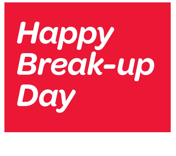 9 Happy Break Up Day Image