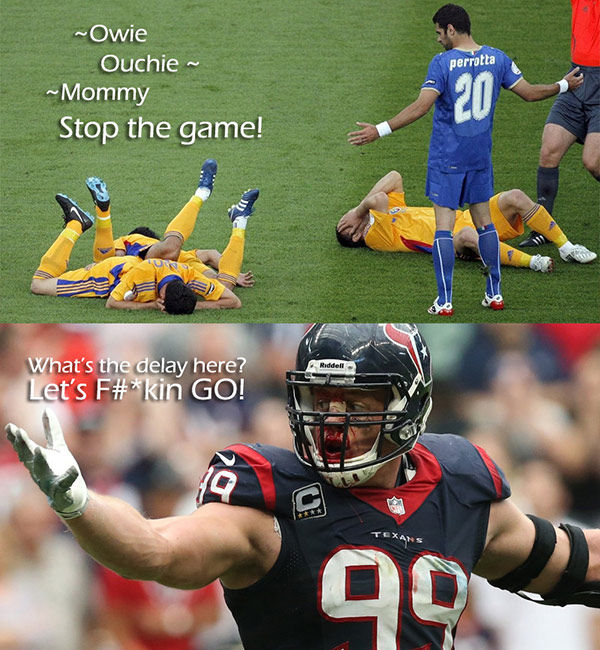 American Football Memes owie ouchie mommy stop the game