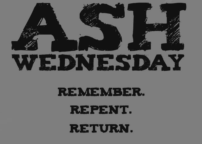 Ash Wednesday Message Wishes