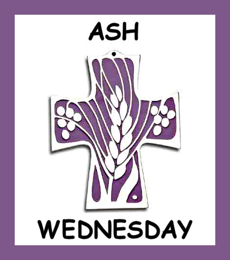 Ash Wednesday Purple Clipart