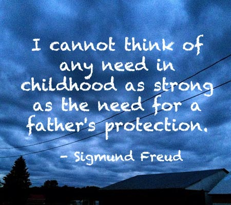Baby Daddy Quotes i cannot think of any need in childhood as strong as the need for a