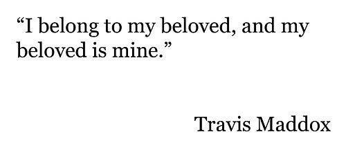Beautiful Disaster Quotes i belong to my beloved and my beloved is mine (2)