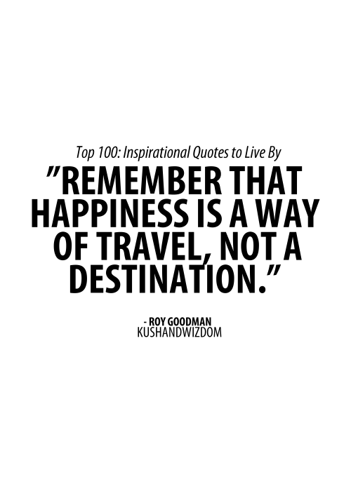 Beautiful Disaster Quotes remember that happiness is a way of travel