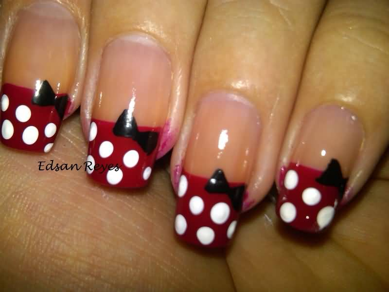 Best Ever Bow Nails On Tip