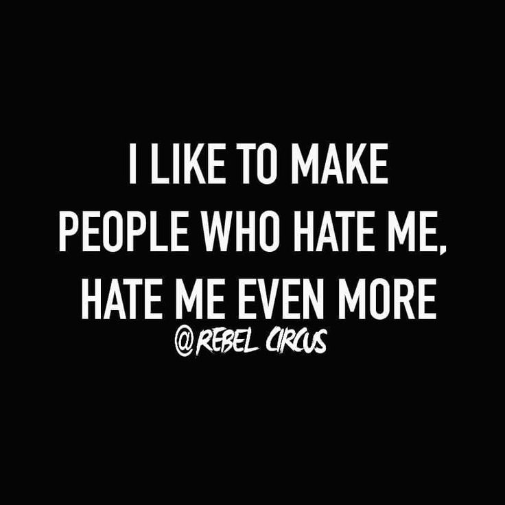 Bitch Quotes i like to make people who hate me hate me