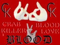 Blood Gang Quotes crab blood killer love blood