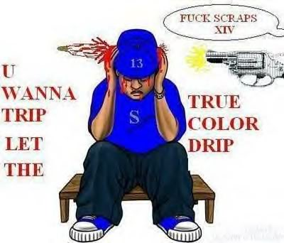 Blood Gang Quotes u wanna trip let the true color drip