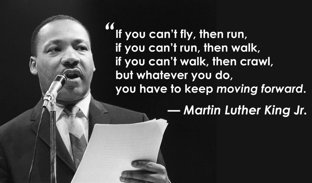 Business Quotes if you can't fly then run