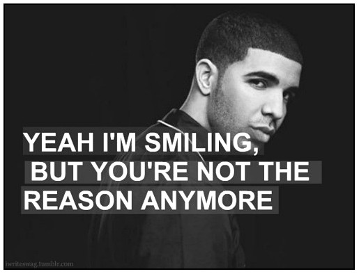 Celebrity sayings yeah I'm smiling but you're not