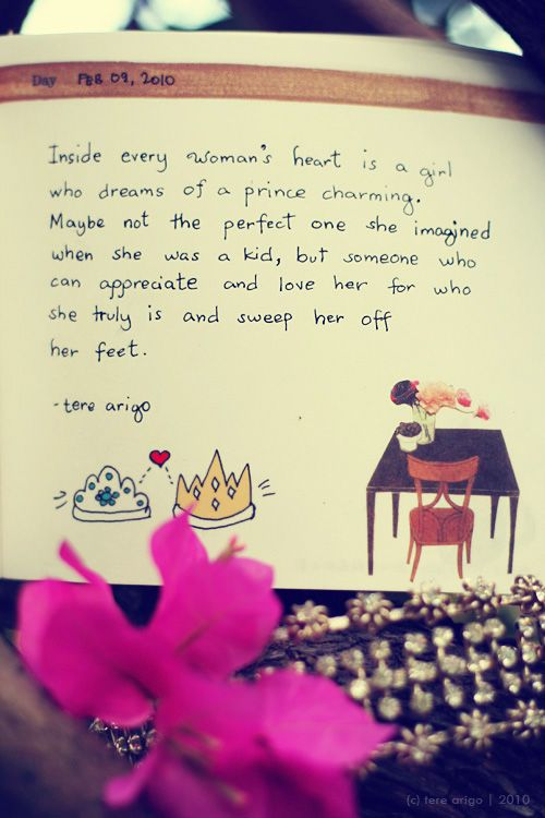 Charming Quotes inside every woman heart is a girl