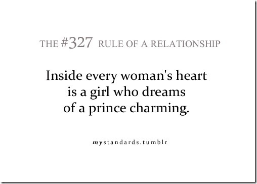 Charming Quotes inside every woman's heart is a girl who dream