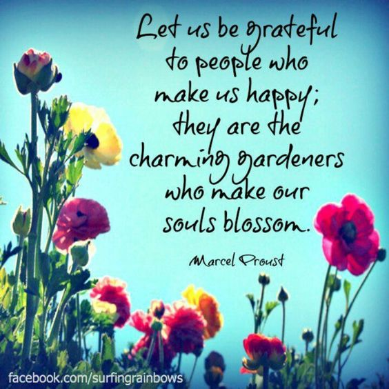 Charming Quotes let us be grate full to people who make
