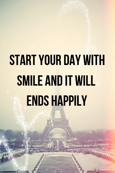 Day Quotes start your day with smile and it will