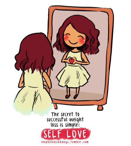 Diet sayings the secret to successful weight self love
