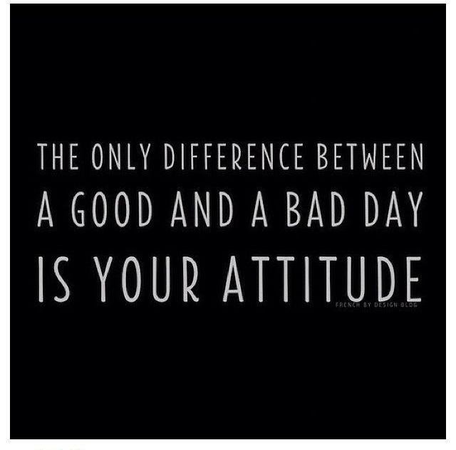 Drug Recovery Quotes the only difference between a good and bad day