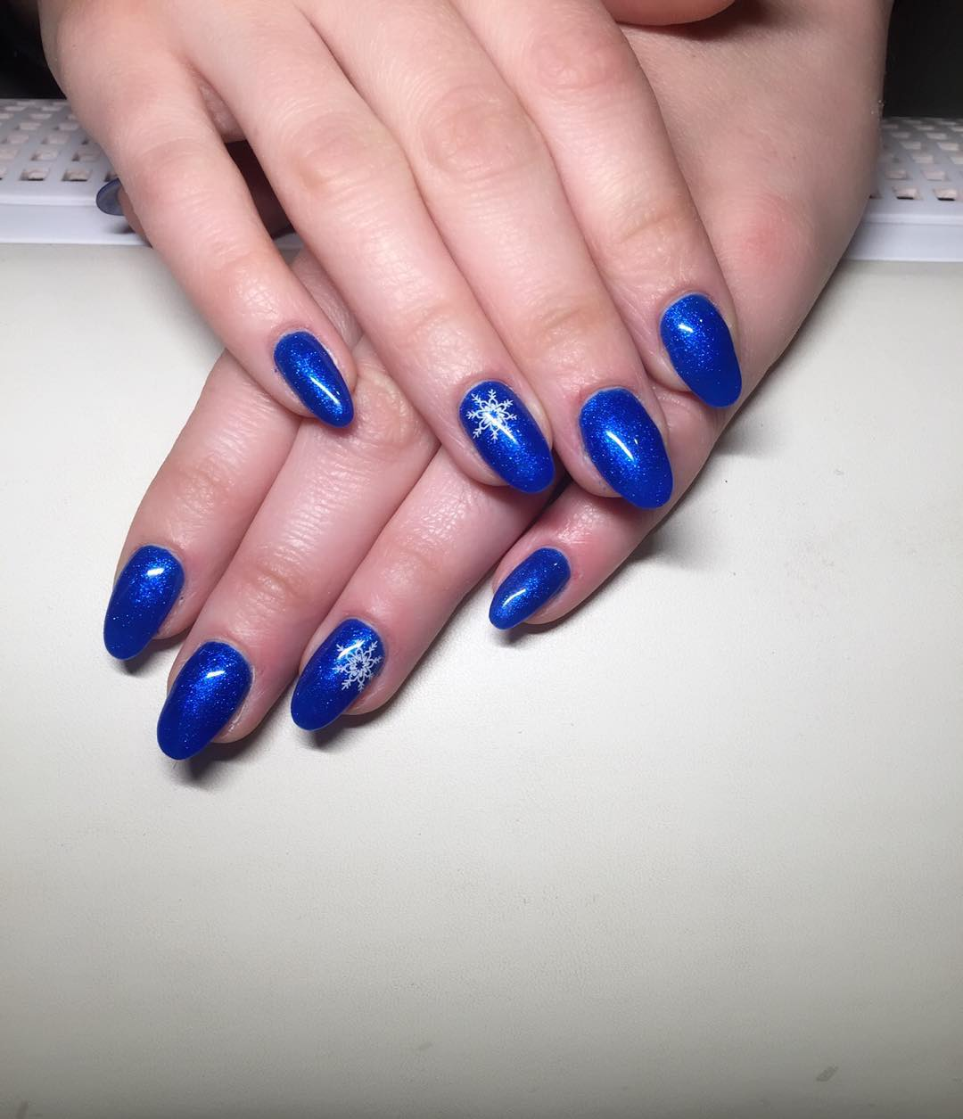 Fabulous blue nails with star design picsmine fabulous blue nails with star design prinsesfo Images
