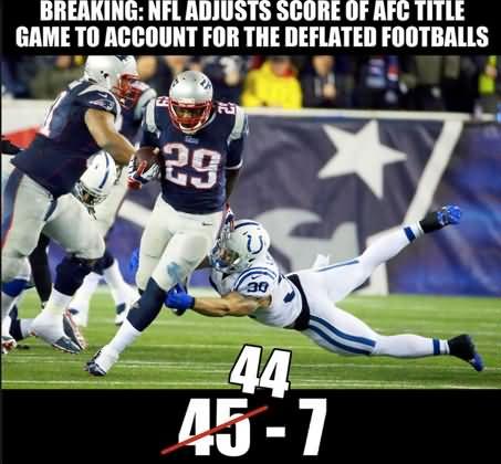 Football Meme Breaking nfl adjusts score of afc