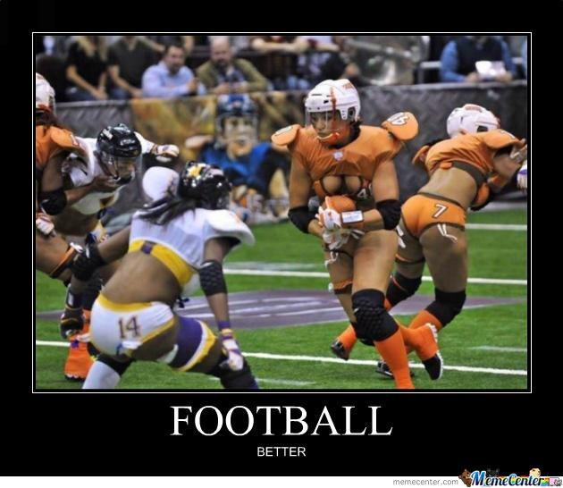 Football Meme football better