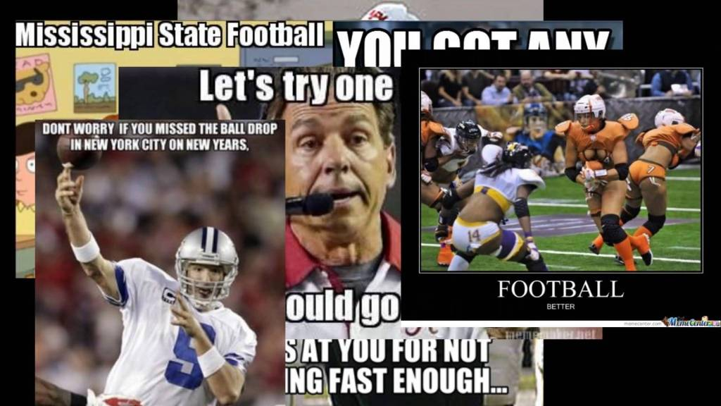 Football Meme mississippi state football lets try one