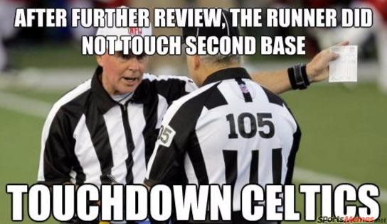 Football Memes After further review the runner did not touch second base
