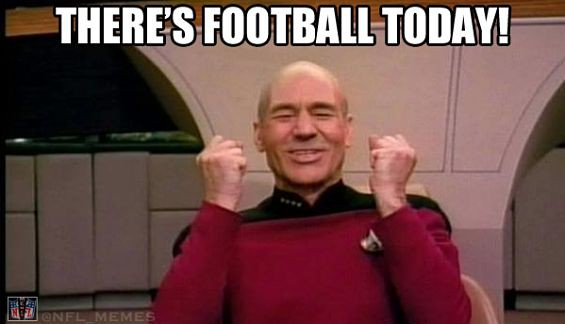 Football Memes there's football today