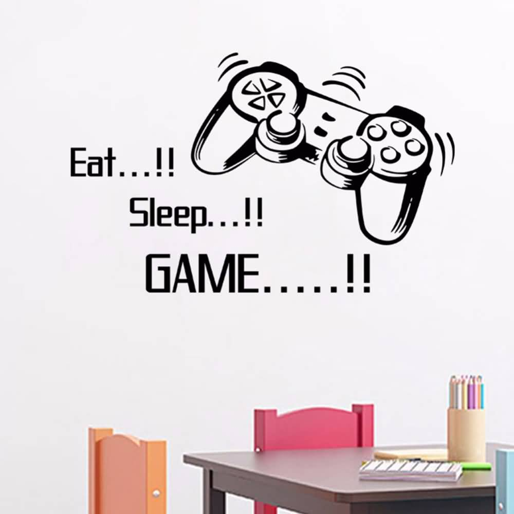 Games Quotes eat sleep game