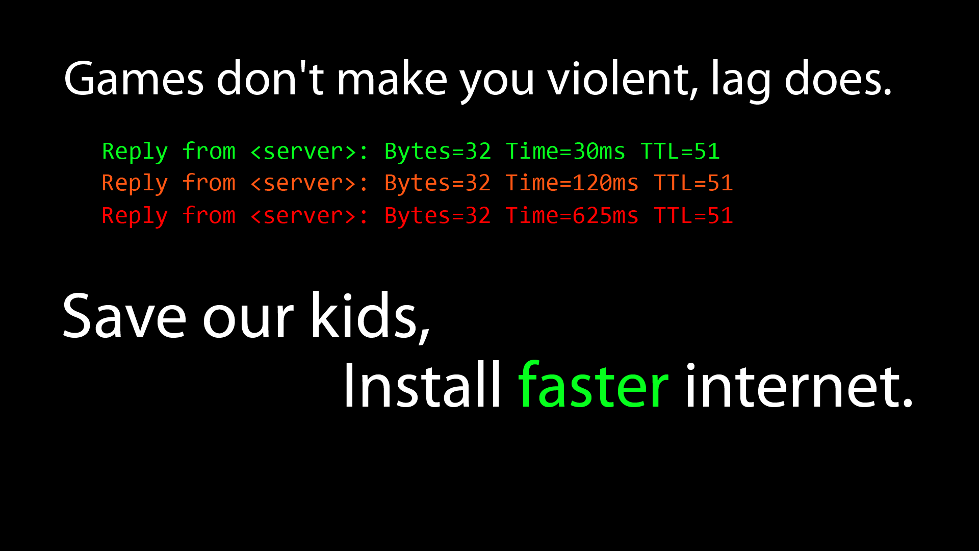 Games Quotes games don't make you violent lag does