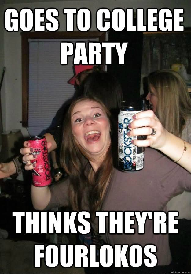 Goes to college party Memes