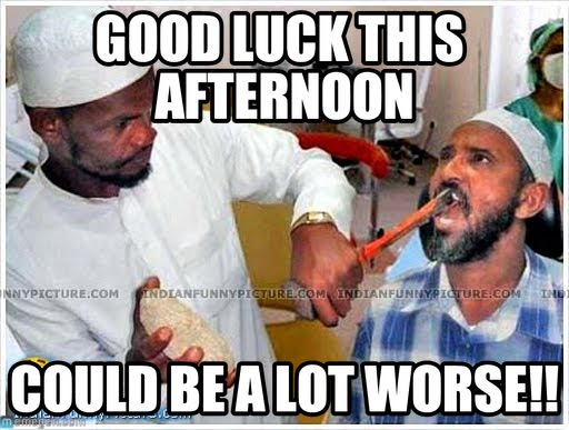 Good Afternoon Memes good luck this afternoon