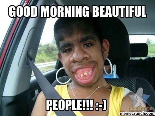 Good Morning Meme good morning beautiful people